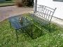 Kovaný zahradní nábytek